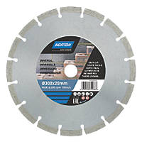 Norton Segmented Diamond Cutting Blade 300 x 20mm