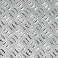 Aluminium Checker-Plated Sheet 1000 x 400 x 1.5mm
