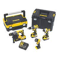DeWalt DCK456M3T-GB 18V 4.0Ah Li-Ion XR Brushless Cordless 4-Piece Power Tool Kit