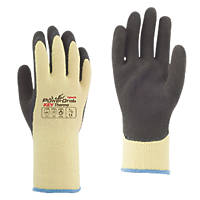 Towa PowerGrab Cut-Resistant Gloves Brown / Yellow Medium
