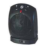 Portable Oscillating Fan Heater 2000W