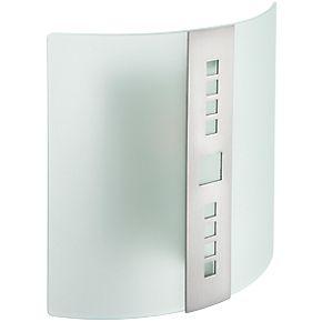 glacia wall light chrome 40w 240v internal wall lights. Black Bedroom Furniture Sets. Home Design Ideas