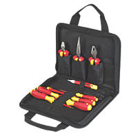 Wiha Electricians VDE Tool Kit 10 Piece Set