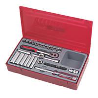 "Teng Tools Modular ¼"" Drive Socket Set 35Pcs"