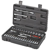 "¼"" Standard Socket Set 38 Pieces"