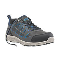 Site Crater Safety Trainers Grey Size 10