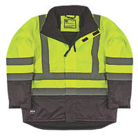 "Helly Hansen  Insulated Hi-Vis Jacket Yellow/Charcoal Medium 39"" Chest"