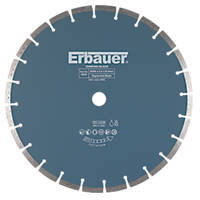 Erbauer Diamond Segmented Blade 350 x 25.4mm