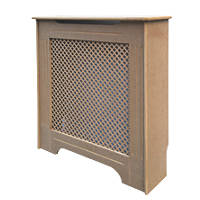 Victorian MDF Radiator Cabinet Unfinished 820 x 210 x 868mm