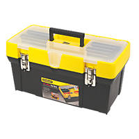 """Stanley 19"""" Clear Lid Tool Box"""