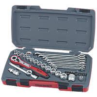 "Teng Tools 3/8"" Socket & Spanner Set 39 Pieces"