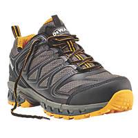 DeWalt Garrison Safety Trainers Charcoal Grey / Yellow Size 10