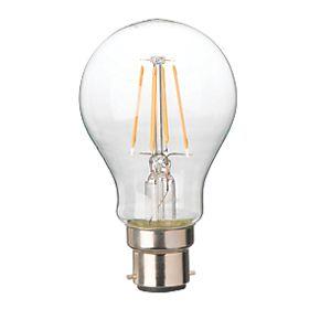 diall bc gls led virtual filament light bulb 470lm 4w. Black Bedroom Furniture Sets. Home Design Ideas