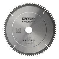 Erbauer TCT Saw Blade 250 x 30mm 80T