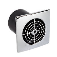 Manrose LP100SS 20W Low Profile Extractor Fan