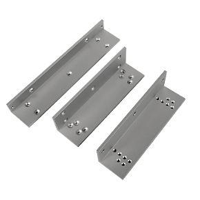 Briton Z Amp L Bracket For 9551 Magnetic Door Locks Silver