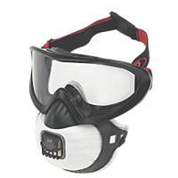 JSP FilterSpec Pro Valve Respirator Black FMP2