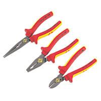 C.K RedLine VDE Pliers Set 3 Pieces