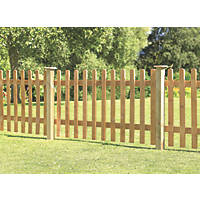 Forest Pale Fence Panels 1.82 x 0.9m 3 Pack