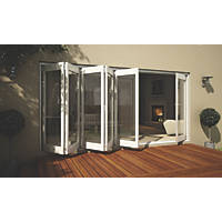 Jeld-Wen Wellington Slide & Fold Patio Door Set White 4194 x 2094mm