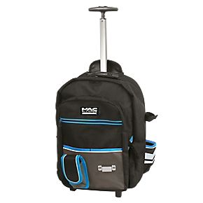 Mac Allister Hard Base Backpack with Wheels 19"