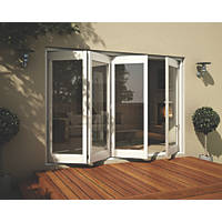 Jeld-Wen Wellington Slide & Fold Patio Door Set White 2994 x 2094mm