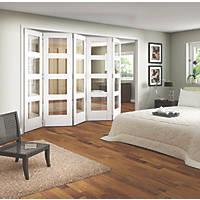 Jeld-Wen Shaker 4-Panel Interior Room Divider Primed 2052 x 3163mm