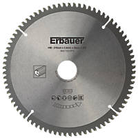 Erbauer TCT Saw Blade 216 x 30mm 80T