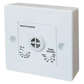 Manrose 1361 Remote Bathroom Fan Humidity Control with ...