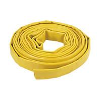 "Layflat Hose Yellow 10m x 1"" (25mm)"