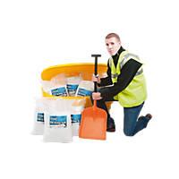 Beehive Grit Bin Kit Yellow 170Ltr