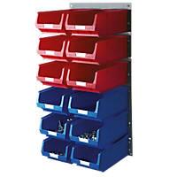 Extra Large 12-Bin Storage Kit