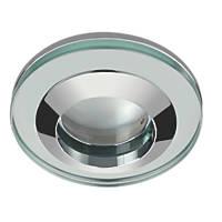 Sensio Fixed Round Glass Shower Light Chrome 240V