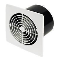 Manrose LP150STW 25W Axial Kitchen Fan with Timer