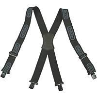 Oregon 562411 Logger Trouser Braces Black Metal Clip Attachment
