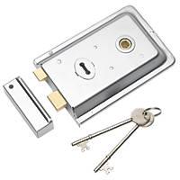 Eurospec Rim Lock Polished Chrome 155 x 105mm