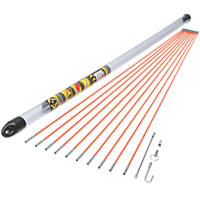 MightyRod Cable Rod Set 10m 15 Pieces