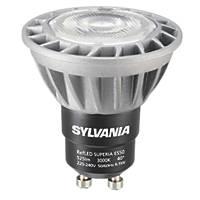 Sylvania   GU10 LED Light Bulb 525lm 6.5W