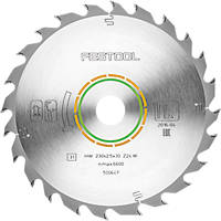 Festool All-Purpose TCT Circular Saw Blade 230 x 30mm 24T