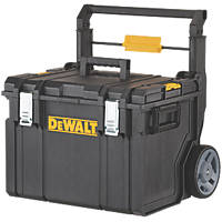 Mobile Storage Box with Telescopic Handle