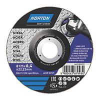 "Norton Metal Grinding Disc 5"" (5mm) x 6 x 22.2mm"