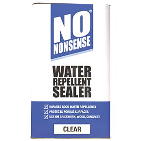 No Nonsense Water Repellent Seal Clear 5ltr Seals And
