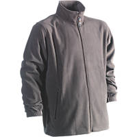 "Herock Darius Fleece Jacket Grey Large 47"" Chest"