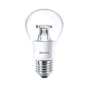 philips es gls led light bulb 470lm 6w light bulbs. Black Bedroom Furniture Sets. Home Design Ideas