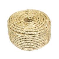 Sisal Natural Rope Light Brown 6mm x 30.5m