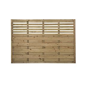 forest kyoto fence panels 1 8 x 3 pack decorative. Black Bedroom Furniture Sets. Home Design Ideas