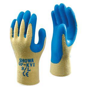 Showa Gp Kv1 Cut 4 Kevlar Gloves Blue Large Mechanical