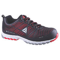 Delta Plus Sportline Safety Trainers Black / Red Size 11