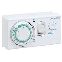 Greenbrook 16A Dual Tariff Boost Timer 230V