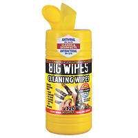 Big Wipes Industrial Cleaning Wipes Yellow 120 Pack